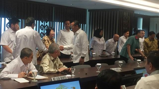 Menteri KKP Edhy Prabowo sambangi Kadin