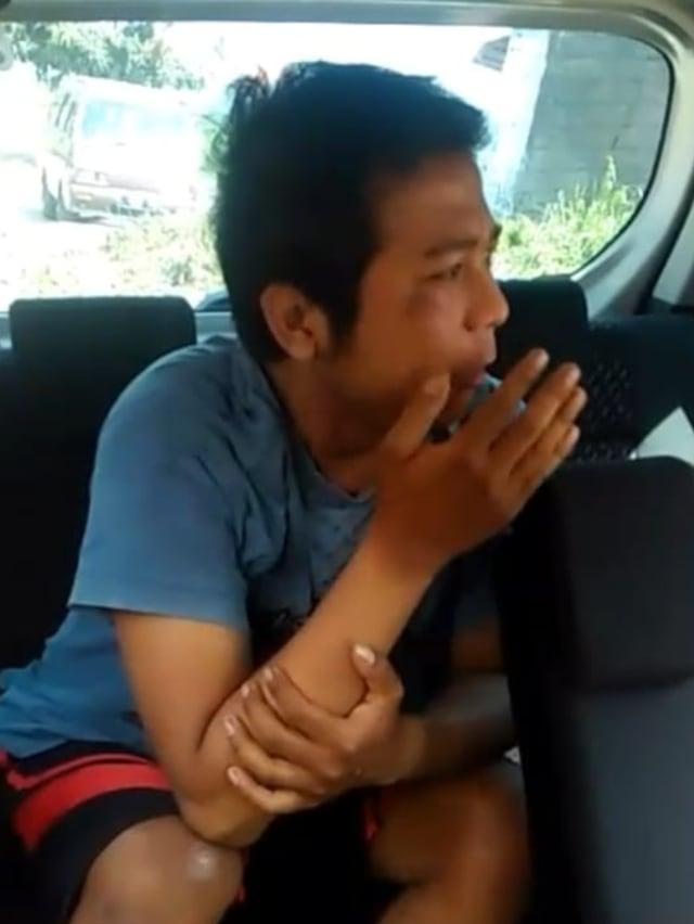 PTR, Pelaku teror pelemparan sperma di Tasikmalaya