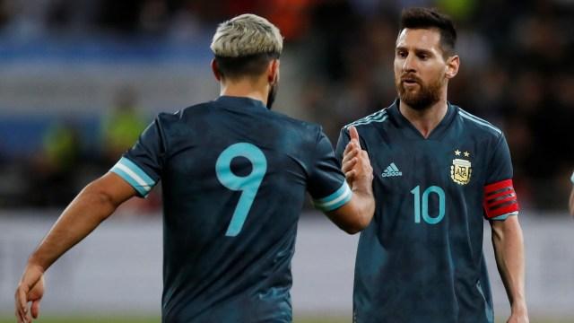 Gol Messi Bawa Argentina Imbangi Uruguay (44896)