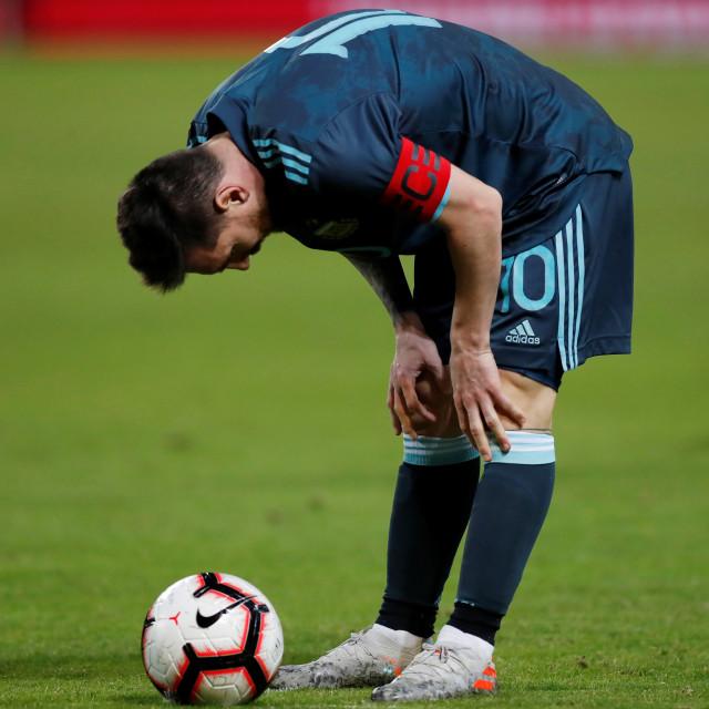 Gol Messi Bawa Argentina Imbangi Uruguay (44895)