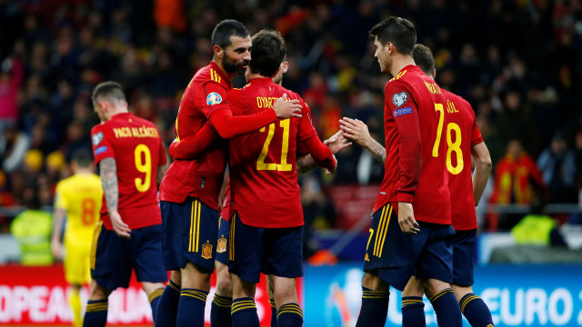 Spanyol vs Rumania