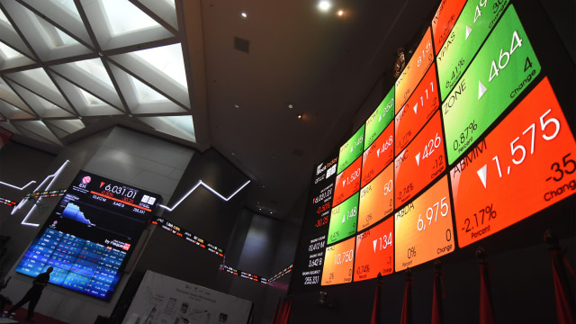 Kompak dengan Bursa Asia, IHSG Sesi I Ditutup Merah (537017)