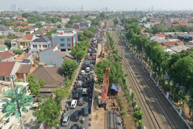 Jalan Raya Pasar Minggu Ditutup hingga 23 Mei, Ini Rute Pengalihan Arusnya  (7836)