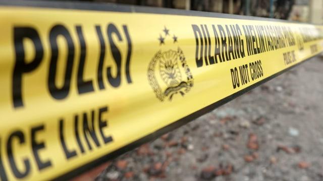 Kantor Hanura di Cipayung Dipasang Garis Polisi Terkait Sengketa Lahan (106076)