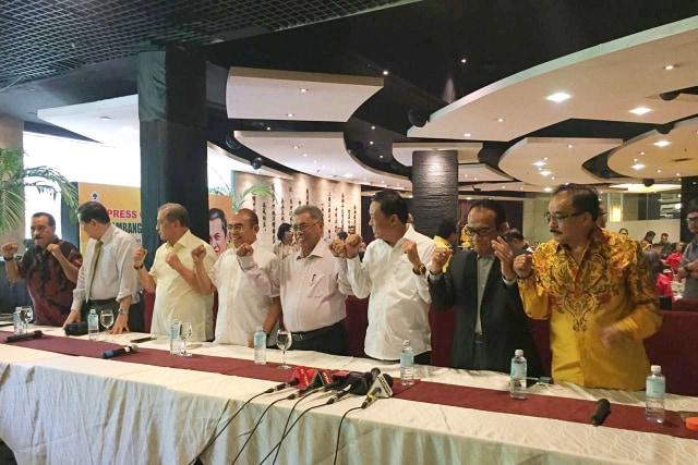 Luhut, Ical, Akbar Pro Airlangga, MS Hidayat, Yorrys Dukung Bamsoet (248364)