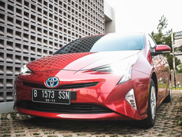 Mencoba Prius Hybrid di Jalan Jakarta, Bebas Ganjil Genap?  (145609)
