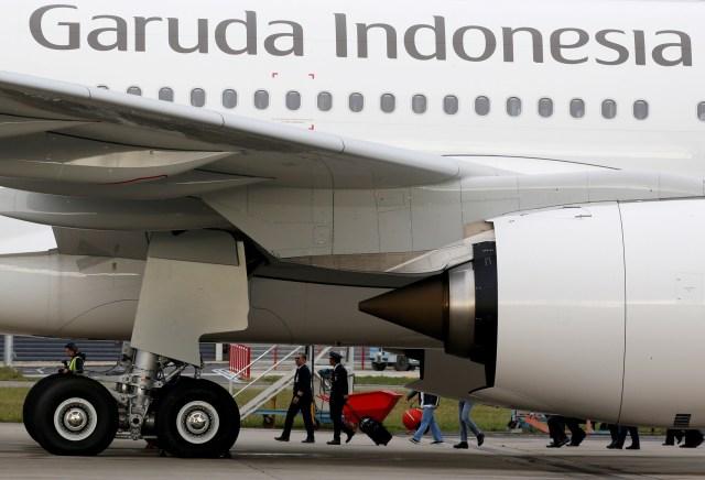 Pesawat Airbus A330 Garuda Indonesia