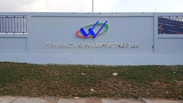 Pabrik baja milik PT Waskita Karya