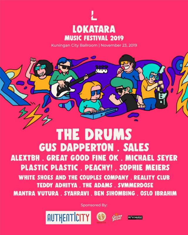 Cek Jadwal Manggung The Adams sampai The Drums di Lokatara Fest 2019 (126163)