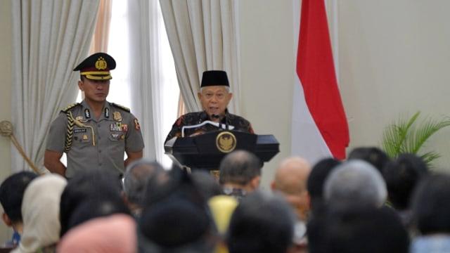 Ma'ruf Amin: Wacana Jabatan Presiden Jadi 3 Periode Berlebihan (336276)