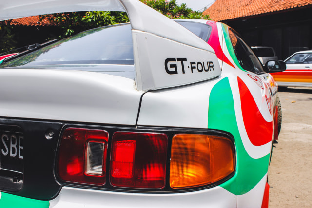 Toyota Celica GT Four: Nostalgia Kejayaan Balap WRC (24867)