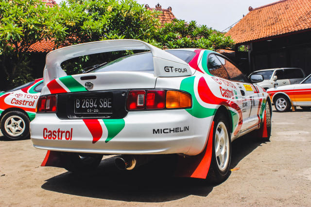 Toyota Celica GT Four: Nostalgia Kejayaan Balap WRC (24866)