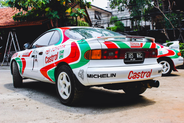 Toyota Celica GT Four: Nostalgia Kejayaan Balap WRC (24865)