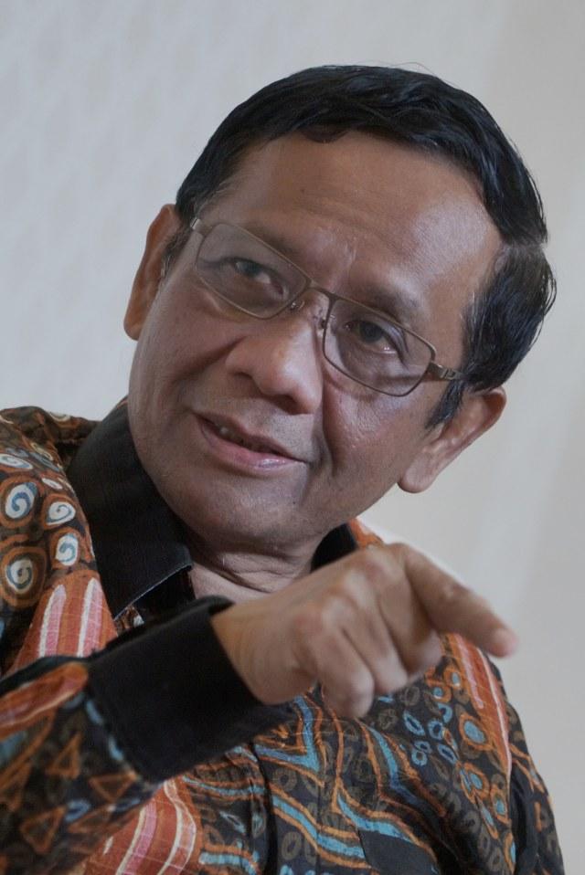 Menko Polhukam Mahfud MD, POTRAIT