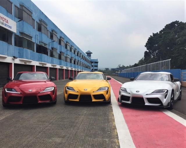 Toyota Indonesia Serahkan 4 Unit Perdana GR Supra  (349333)