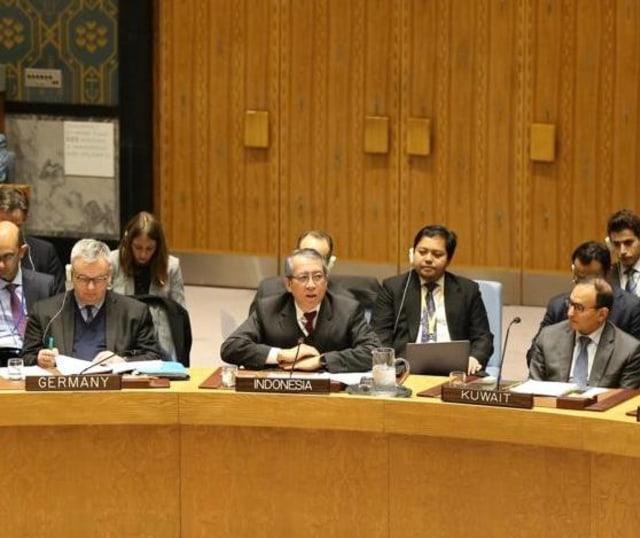 Amerika Serikat Veto Resolusi Penanggulangan Teroris yang Diusulkan RI di DK PBB (25006)