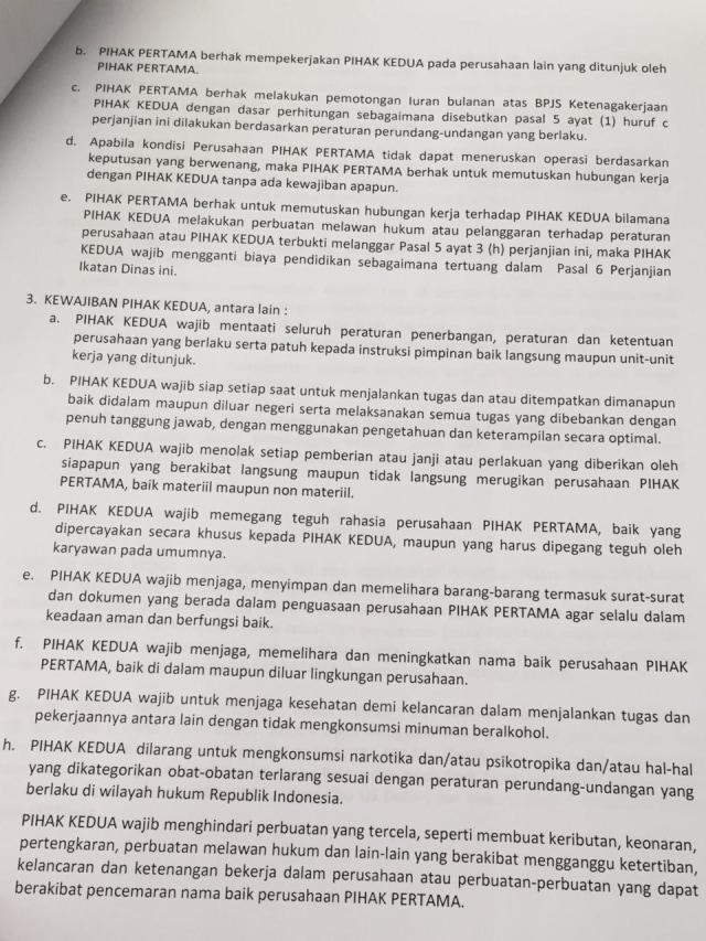 Lion Air Benarkan Kontrak Pilot 18 Tahun dan Denda hingga Rp 7,5 M (11895)