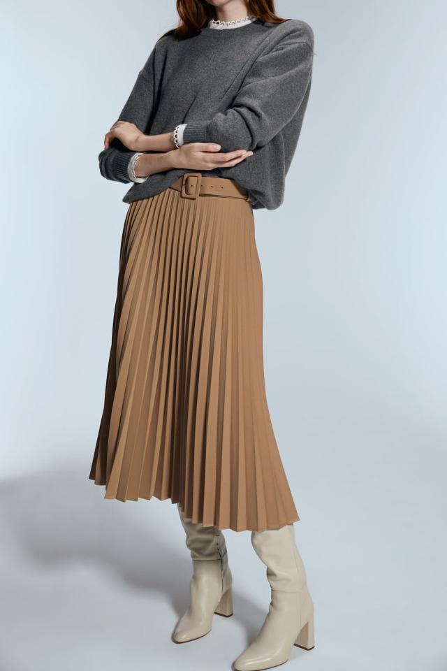 Pleated Skirt - ZARA