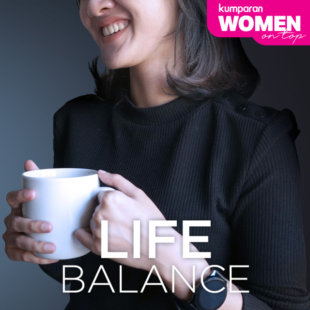 WOMEN ON TOP - Cover Life Balance