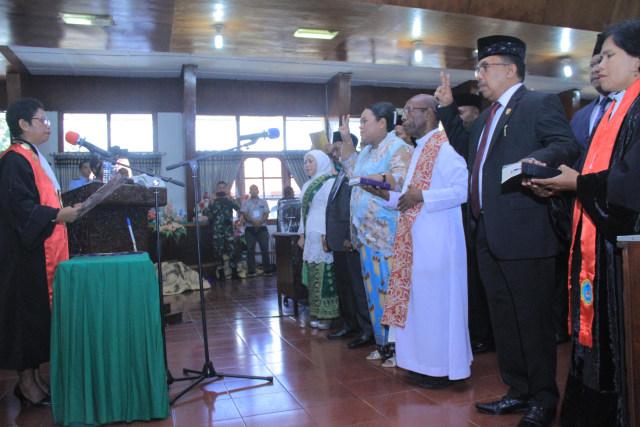 Pansus DPRD Merauke Bahas Pemekaran Provinsi Papua Selatan (715327)