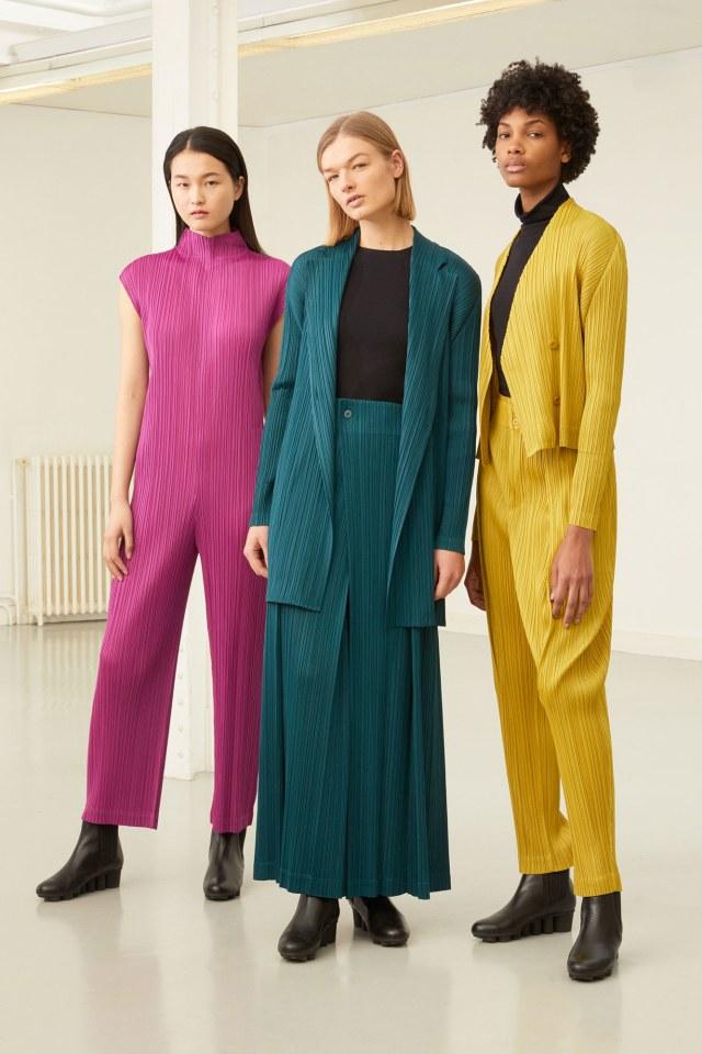 Koleksi 'Pleats Please' Rancangan Issey Miyake