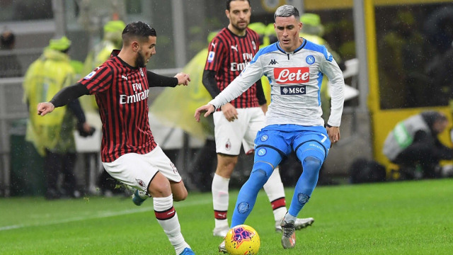 Live Streaming Napoli vs AC Milan di Liga Italia (665301)