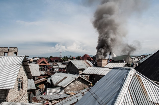 pesawat jatuh di Goma, Kongo