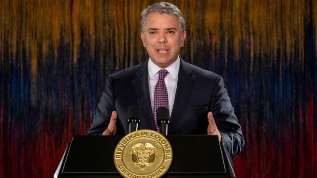 Presiden Kolombia Ivan Duque