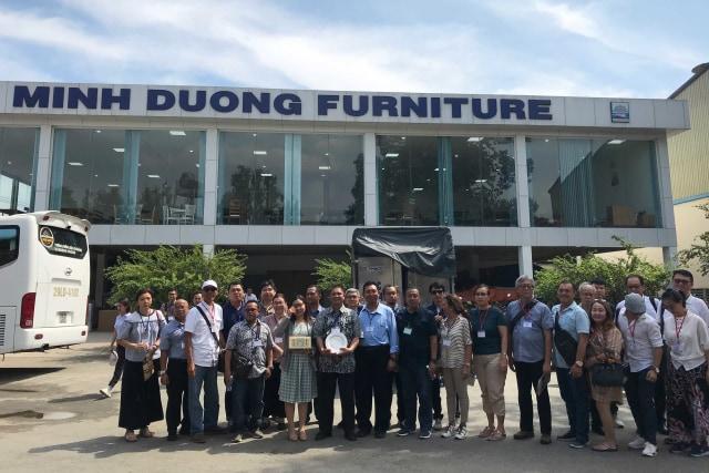 Kembangkan Industri Furnitur, Indonesia Belajar ke Vietnam (5088)