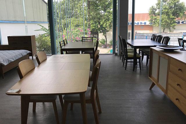 Suasana Pabrik Furnitur milik Minh Duong