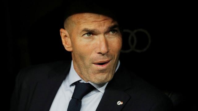 Menang atas Barcelona di El Clasico, Zidane Ogah Bicara Kans Madrid Juara (466562)