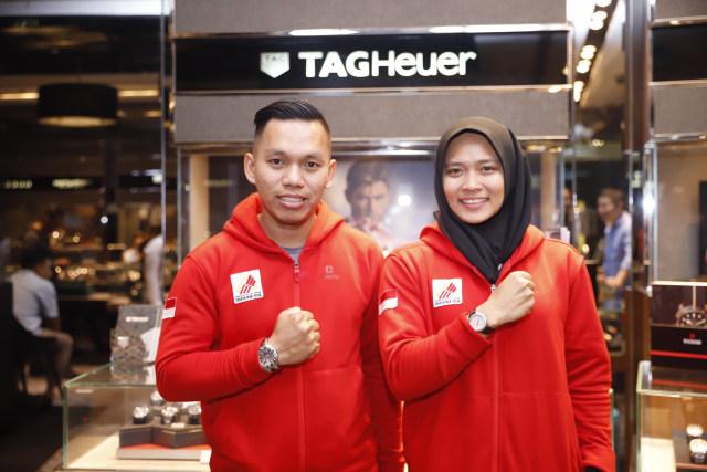 Hadiah Jam Tangan TAG Heuer buat Aries Susanti dari Time International (1180213)