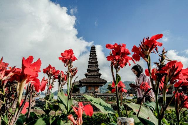 Ilustrasi indahnya Bali