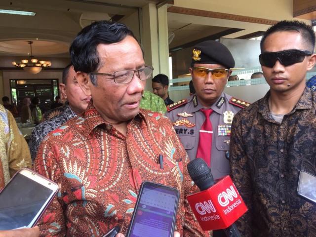 Menkopolhukam Mahfud Md di UIN Sumatera Utara