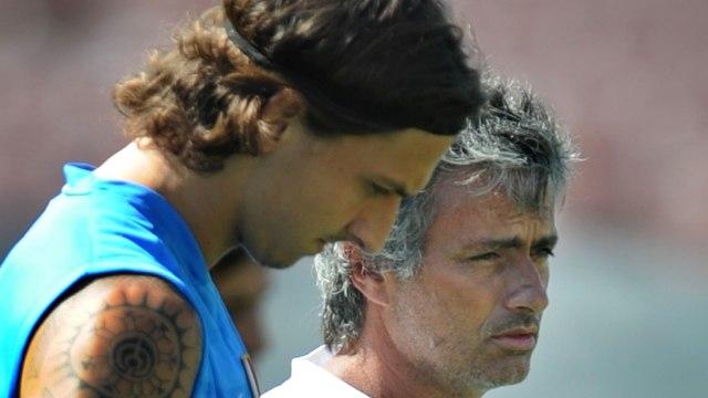 Ibrahimovic dan Mourinho