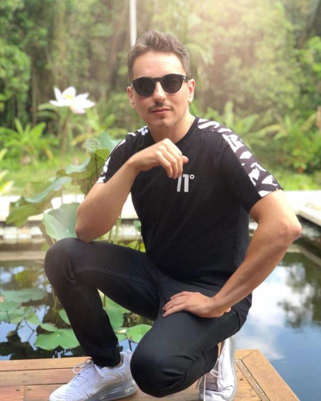 Foto: Keseruan Jorge Lorenzo Liburan di Bali (62878)