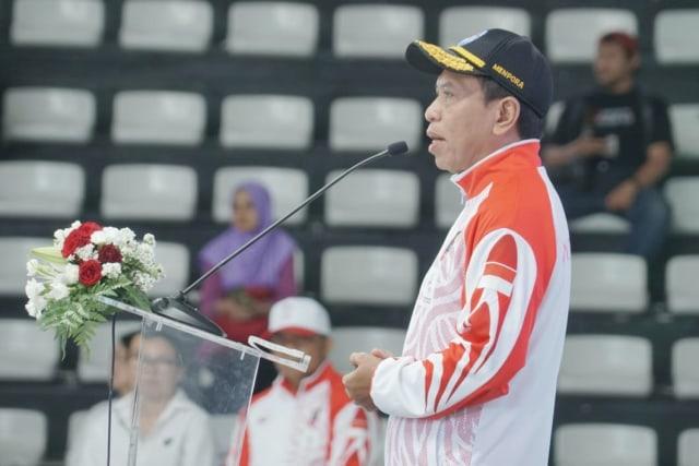 SEA Games 2019 Bermasalah, Menpora Minta Atlet Indonesia Tetap Fokus (162217)
