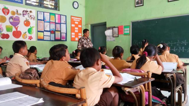 PTR, Ilustrasi Sekolah Dasar Swasta Bekasi