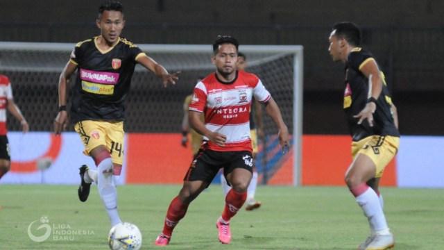 Badak Lampung vs Madura United