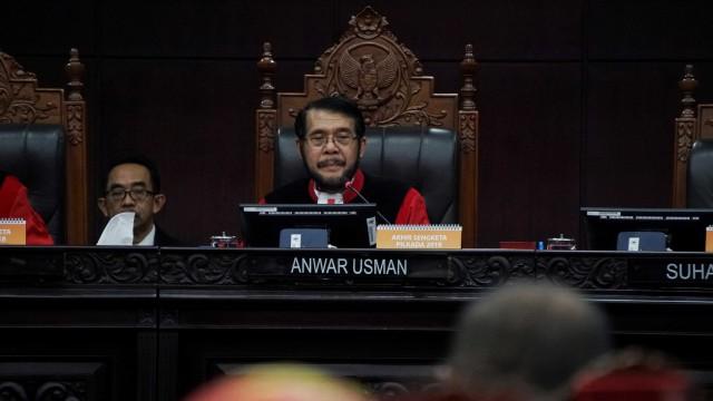 Ketua Mahkamah Konstitusi (MK) Anwar Usman