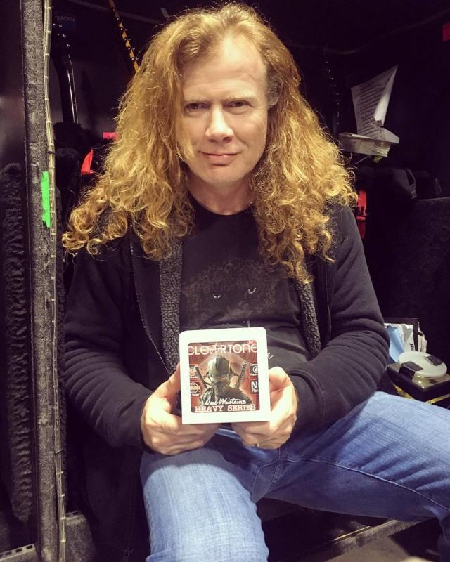 James Hetfield 'Metallica' Berdamai dengan Dave Mustaine 'Megadeth' (467305)