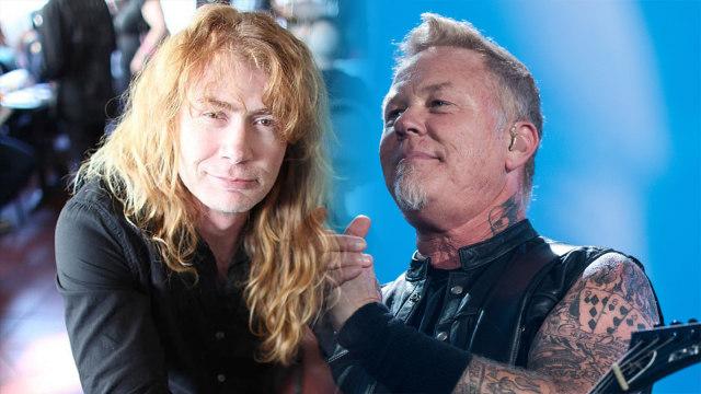 James Hetfield 'Metallica' Berdamai dengan Dave Mustaine 'Megadeth' (467304)