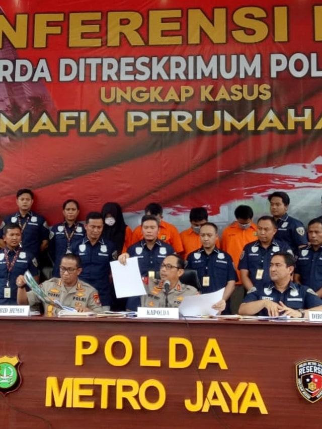 Polda Metro Ungkap Kasus Penipuan Perumahan Syariah (978)