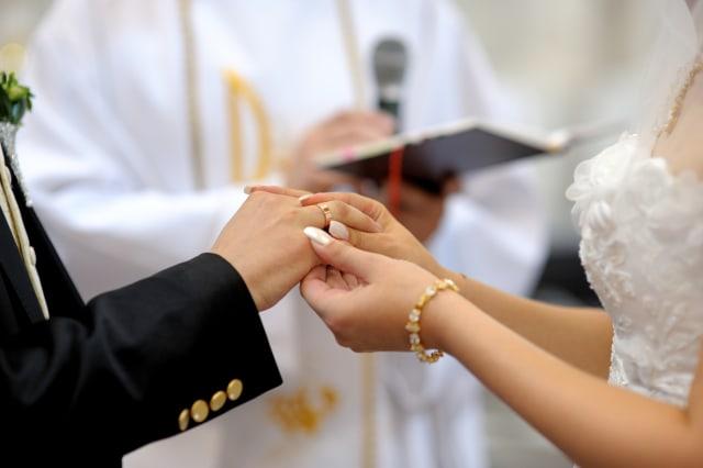 Lipsus, Sertifikasi Pranikah, Pernikahan di Gereja