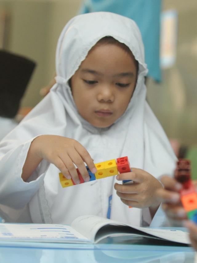 Ilustrasi Sekolah Dasar Islam, POTRAIT