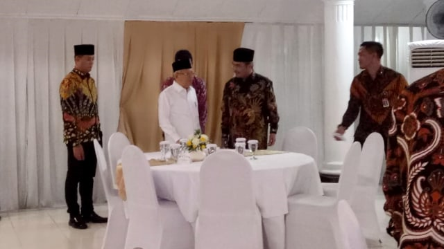 Wapres Ma'ruf Amin menerima ormas Islam