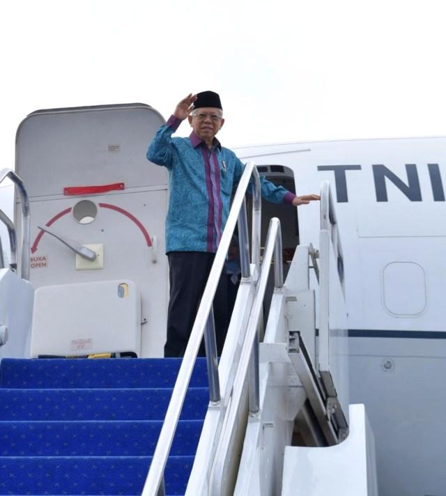 PTR, Wapres Ma'ruf Amin ke Bali