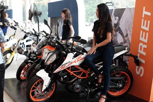 Motor KTM Kini Diproduksi di Gresik, Harga Lebih Terjangkau  (250148)