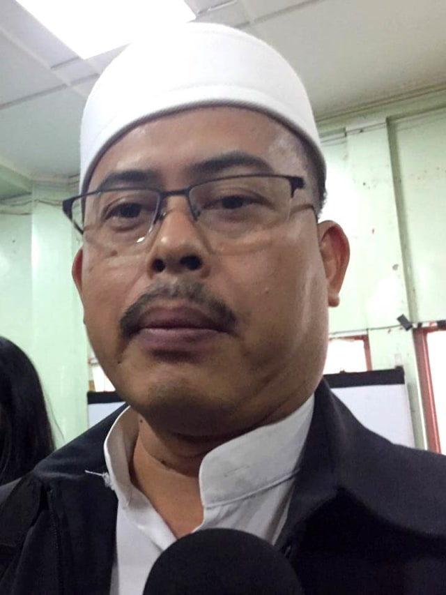 PTR, Ketua PA Alumni 212 Slamet Maarif