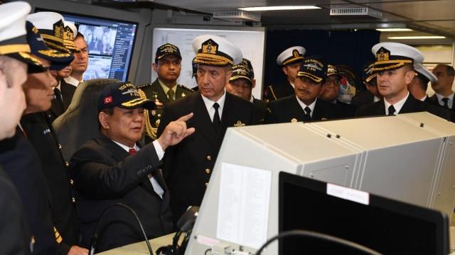 Bertemu Erdogan, Prabowo Sampaikan Salam dari Jokowi (242115)